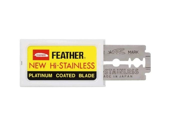 Feather Double Edge Safety Razor Blades