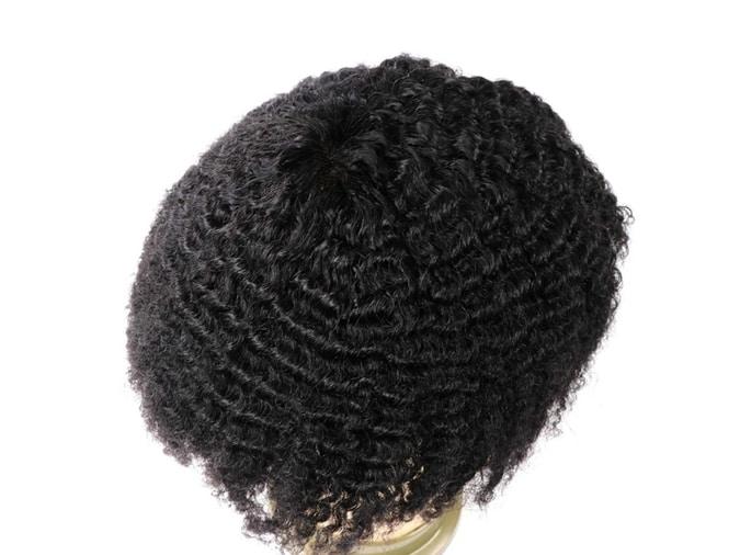 Lumeng Afro Toupee for Black Men