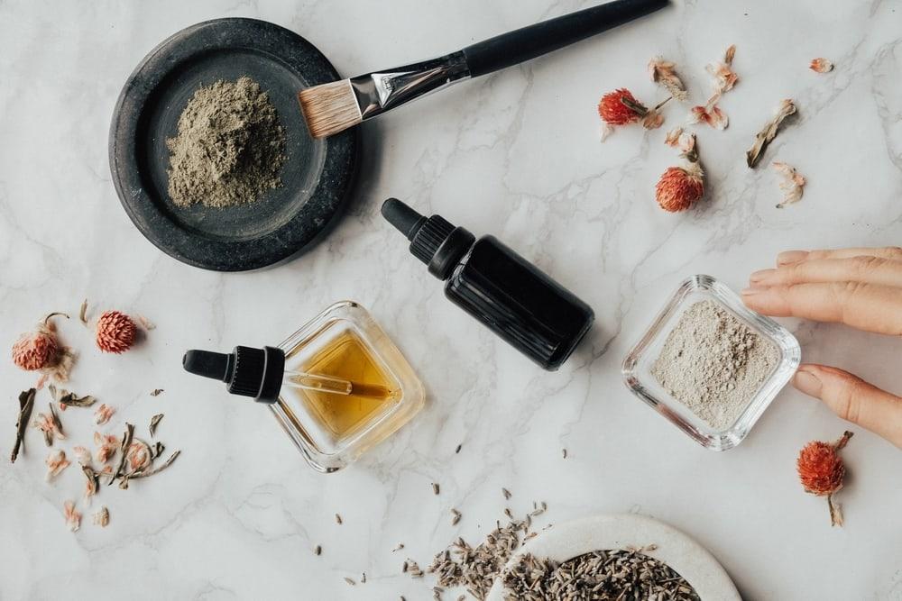 Some ingredients used in making beard oil