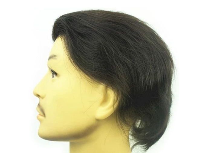 PU Skin Toupee for Men by NLW