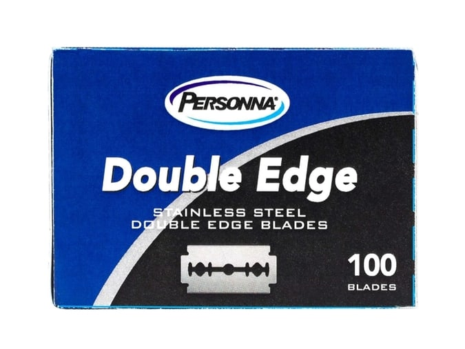 Personna Double Edge Razor Blades