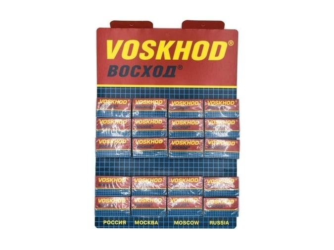 Voskhod, 100 Double Edge Safety Razor Blades