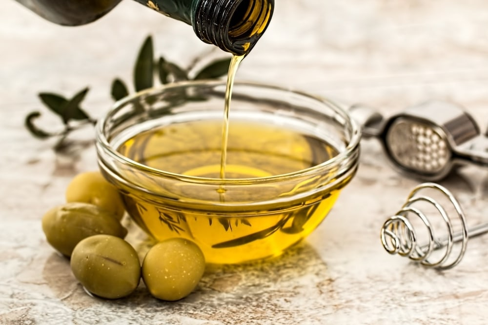 Olive oil is one of the types of oil used to make beard oil products