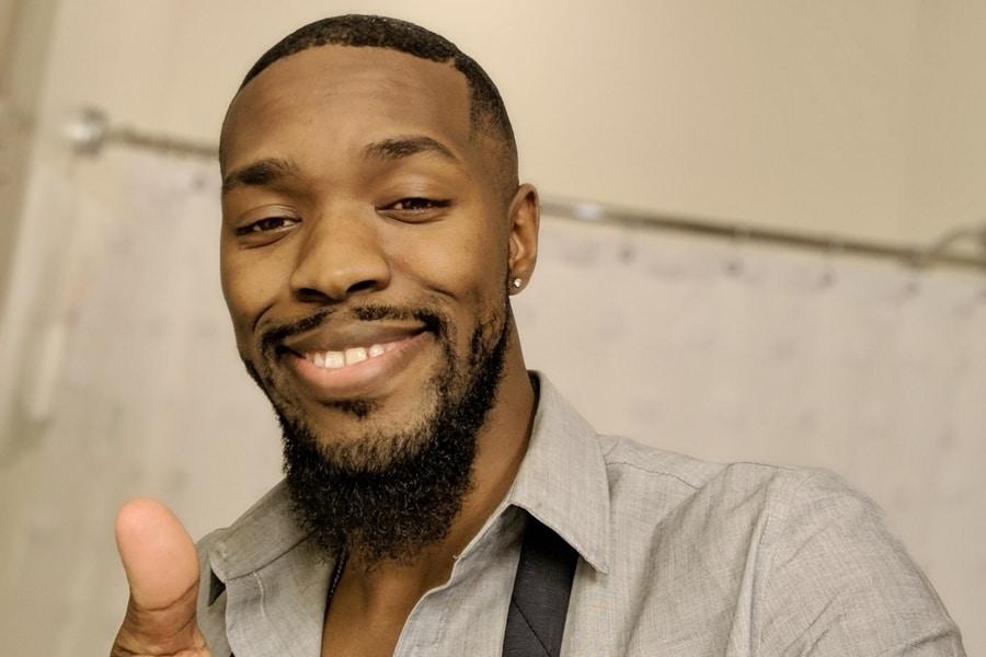 African American man rocking a good beard dye